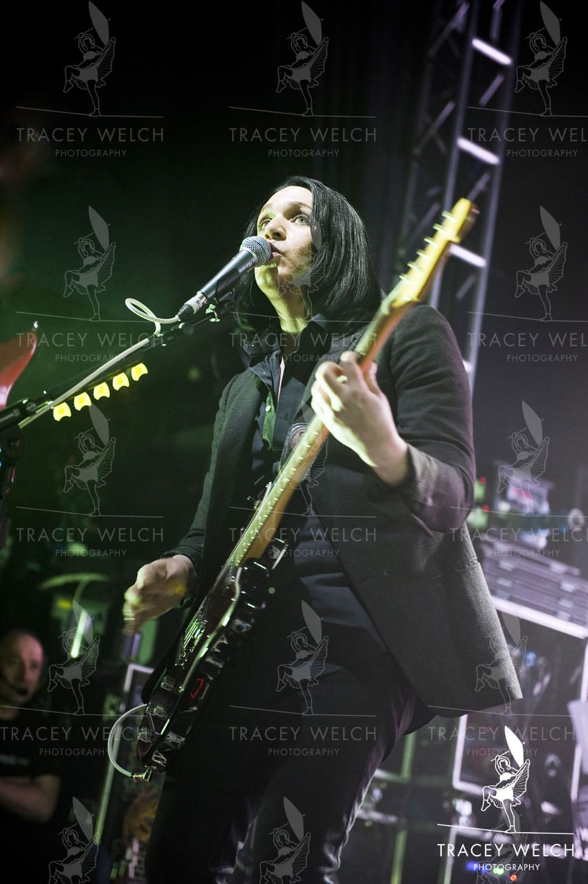 Placebo in concert at O2 Academy Leeds Britain 9th March 2015