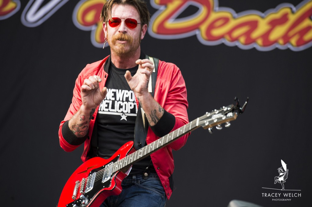 Eagles of death Metal in concert@Leeds Festival 28thAugust2016